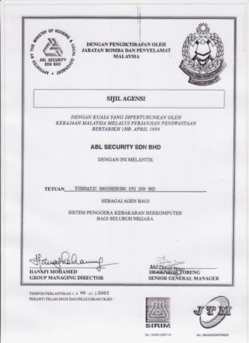 7. AGENT FOR ABL SECURITY